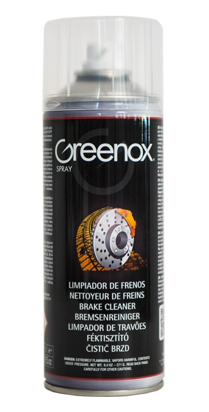 Nettoyant freins en aérosol Greenox
