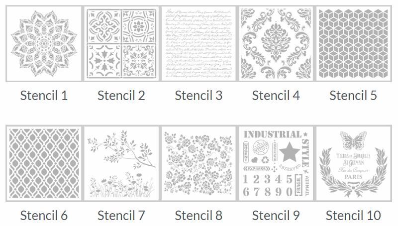 Stencils Pintyplus models