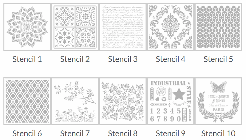 Stencils group Pintyplus