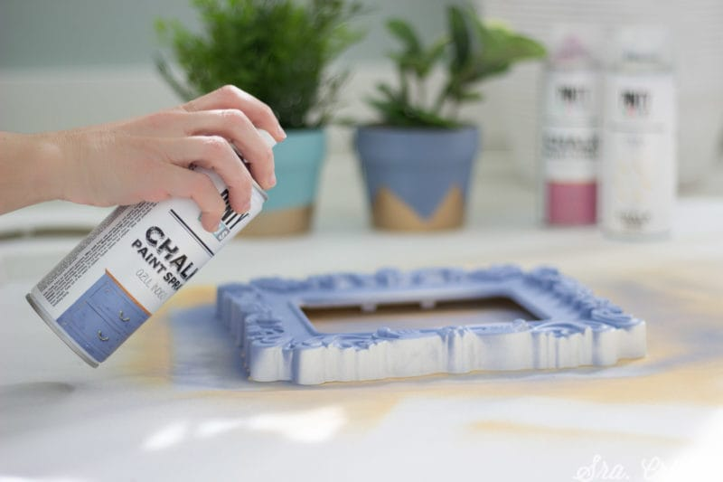 Modo de empleo de la chalk spray paint Pintyplus