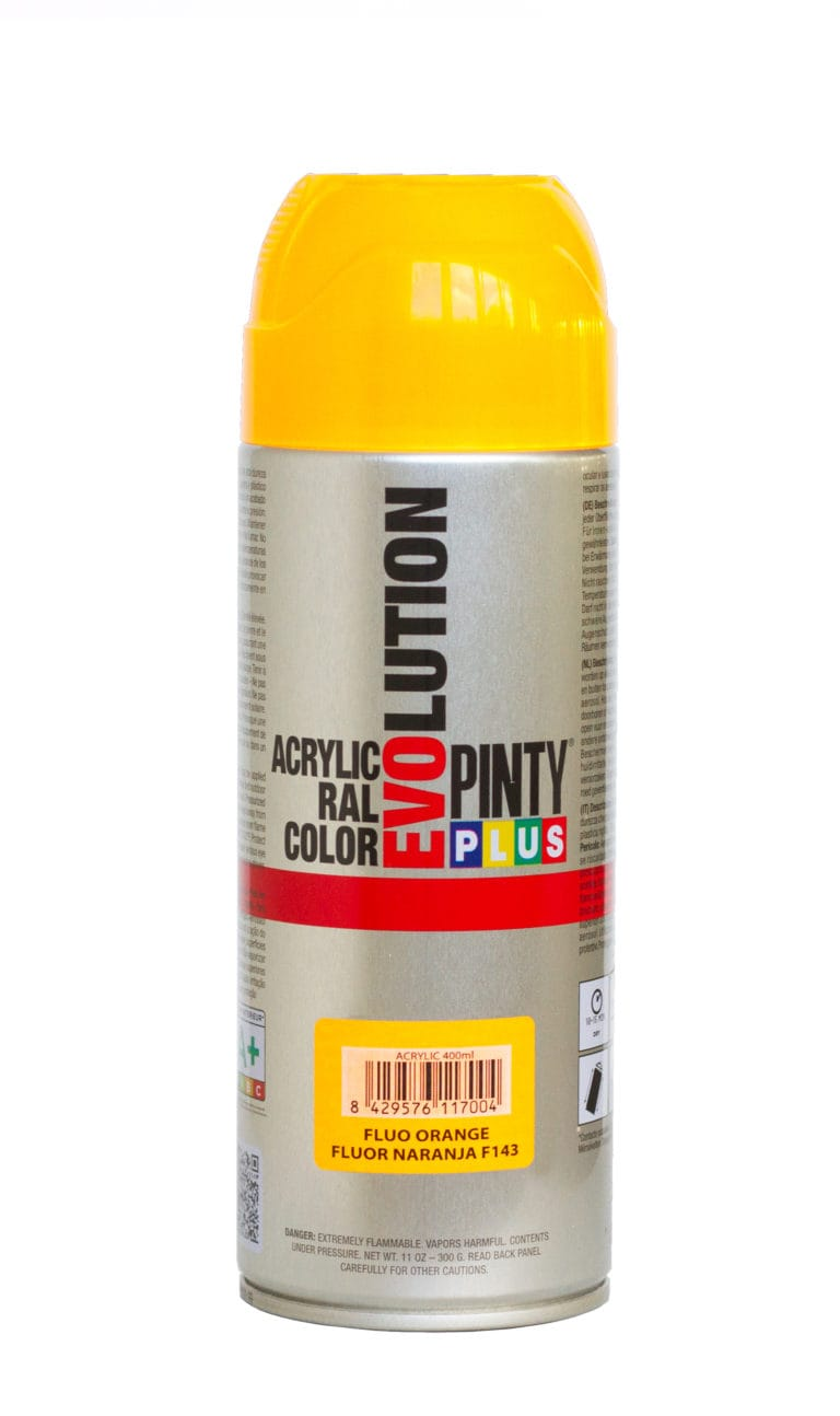 Pintyplus Evolution fluorescent spray paint