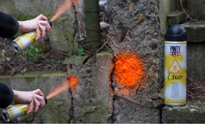 Spray marcador Pintyplus modo de empleo