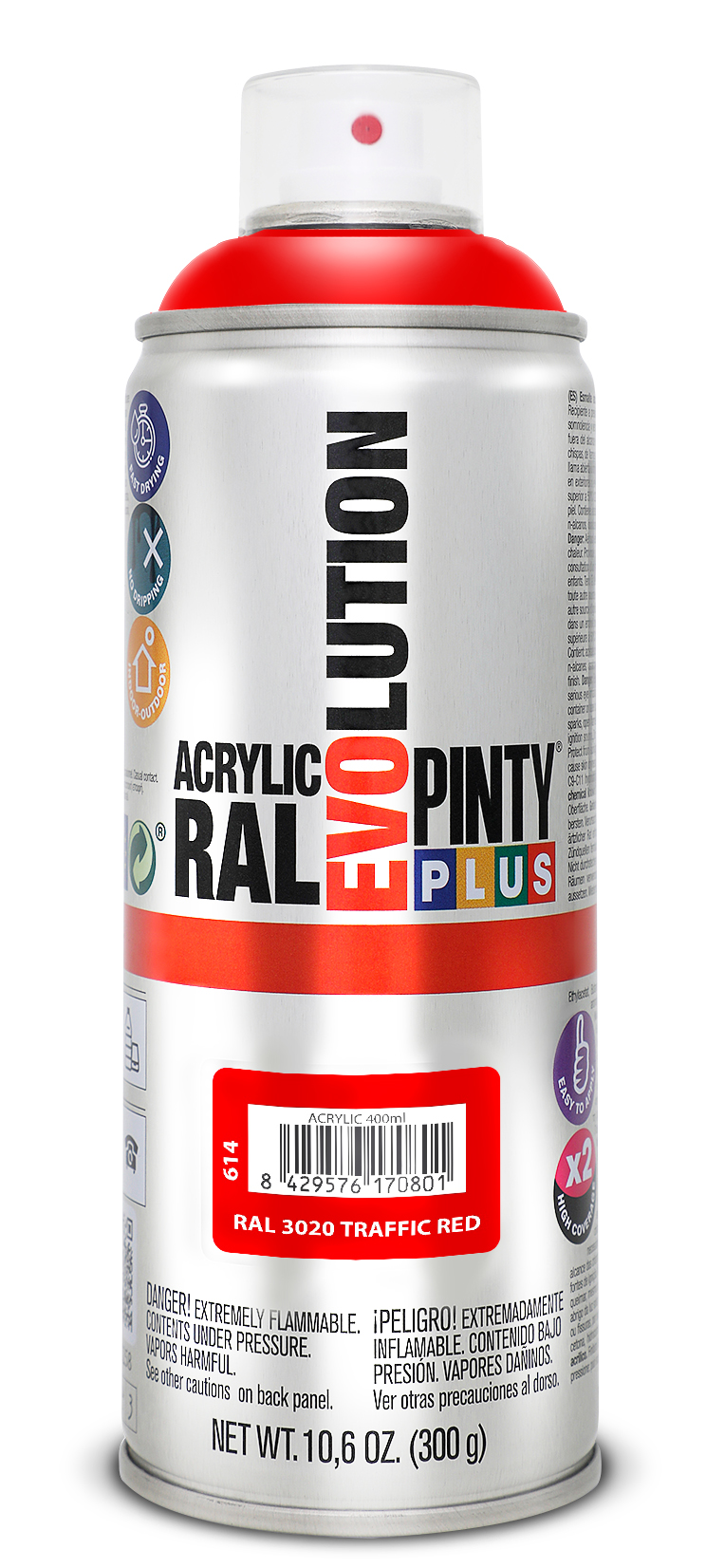 Pintyplus EVOLUTION acrylic spray paint