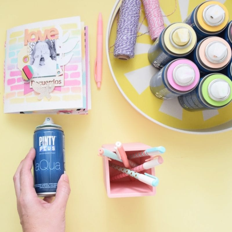 Aplicaciones para la pintura en spray Aqua