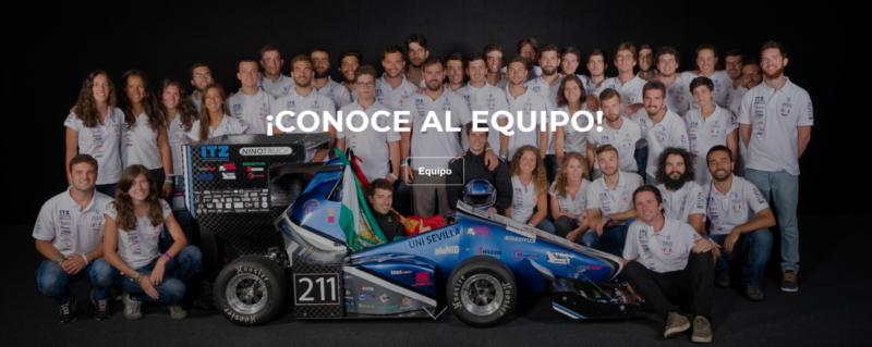 Pintyplus con Arus team Sevilla